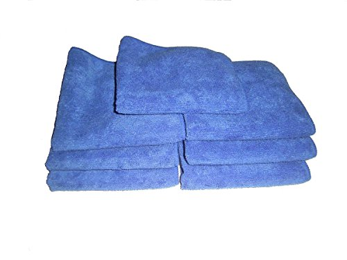 7-blue-microfiber-towels-12-x-12-300-gsm-professional-quality-towels-plus-1-free-16-by-16-glass-towe