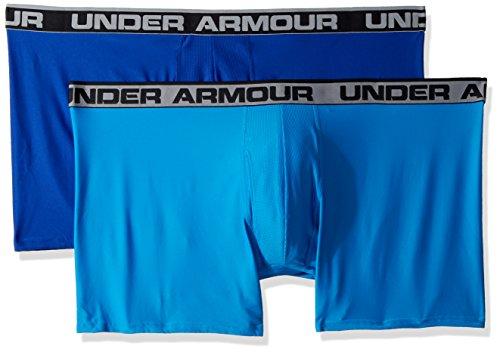 "Under Armour Men's Original Series 6"" Boxerjock 2-Pack, Royal/Brilliant Blue, - Under For Men"
