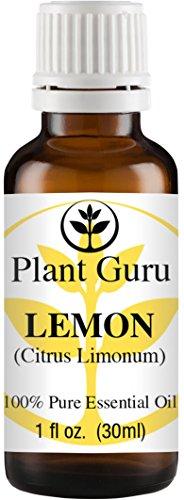 Lemon Essential Oil. 30 ml. (1 oz.) 100% Pure, Undiluted, Therapeutic Grade. (Lemon Essential Oil 1 Oz)