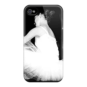 Ajephke LOpcuCa7161aWUFz Protective Case For Iphone 4/4s(ballet)