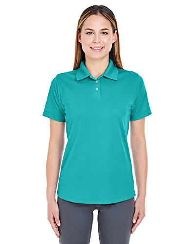 Ultraclub 8445L Ladies' Cool & Dry Stain-Release Performance Polo Jade L