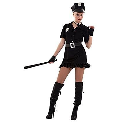 Disfraz de Policía Sexy para mujer: Amazon.es: Juguetes y juegos