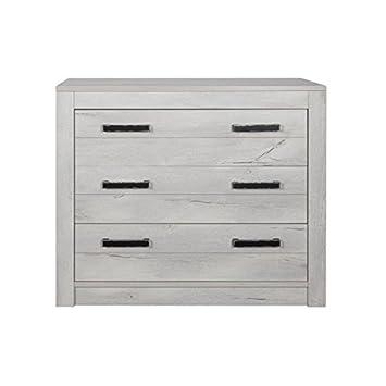 newest 6d389 054cd Amazon.com: Kidsmill Fjord Dresser in Light Grey Oak: Baby