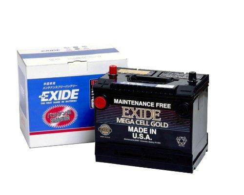 EXIDE [ エキサイド ] 輸入車バッテリー [ Mega Cell ] EX58 B008UJED9C