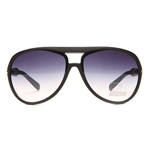 MKY Women's Classic Aviator Gradient Large Metal - Sunglasses Thick Aviator