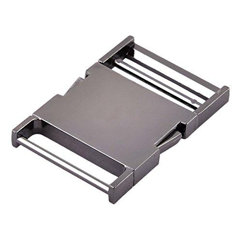 uxcell Metal Flat Belt Strap Backpack Side Quick Release Buckle 1.5