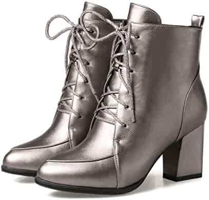 7c8d49529aadf Shopping Wedge or Platform - Zip - Silver - Boots - Shoes - Women ...
