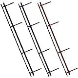 GBC® Four Pin Reclosable Binding Strips, Black, 25/Pack (GBC9741630) Category: Binding Machines