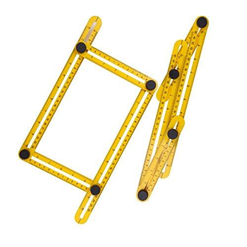 Shop Story/ /Regla de /ángulo plegable multifunci/ón de medici/ón Multi Angles para corte y tuercas facile Neuf
