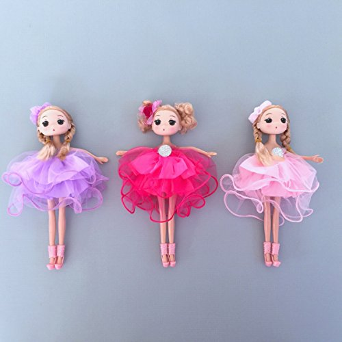 Ballerina Princess Doll Pack N Play Gift Set (Doll Ballerina)