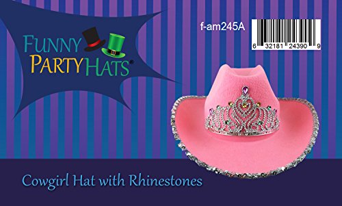 fbddfdb9f07 Cowgirl Hat - Princess Cowboy Hats for Women by Funny Party Hats