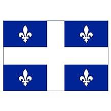 Quebec Flag (Bumper Sticker)