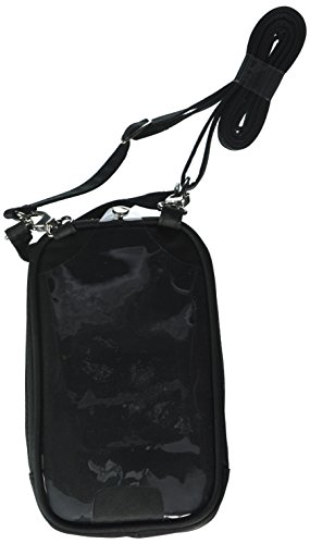 Charm 14 PursePlus Touch Cell Phone Carrying Purse Large - Retail Packaging - Midnight Black
