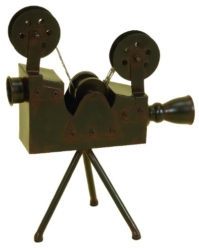 Deco 79 Metal Antique Camera, 15 by 12-Inch ()