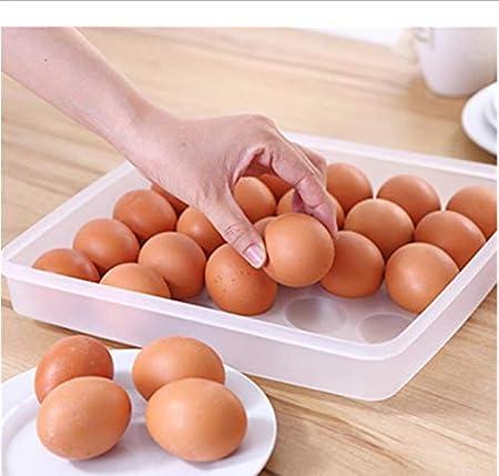 LEYOYO Refrigerador de Almacenamiento de Huevos Crisper ...