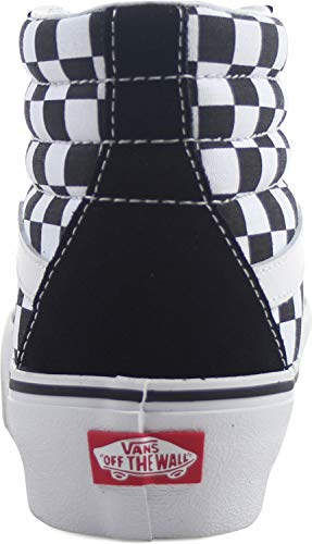 Zapatillas Unisex Leather Checkerboard Reissue true Adulto White Vans Sk8 hi Iq6awHx7