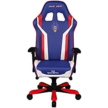 Dxracer USA Special Editions DOH/KS186/IWR/USA3 Racing Bucket Seat Office Chair X Large Pc Gaming Chair Computer Chair Executive Chair Ergonomic Desk Chair ...  sc 1 st  Amazon.com & Amazon.com: DXRacer Racing Series DOH/RE112/MLG Major League Gaming ...