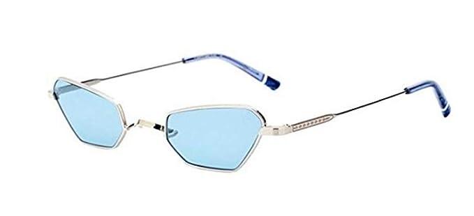 Etnia Barcelona Gafas de Sol CARYTOWN SILVER/LIGHT BLUE ...