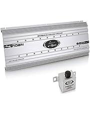 Lanzar Vibe 6000W 2-Channel Mosfet Amplifier VIBE2102N