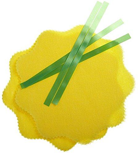 Regency Wraps 1000 Count Lemon Wraps with Ribbons, (Lemon Ribbon)