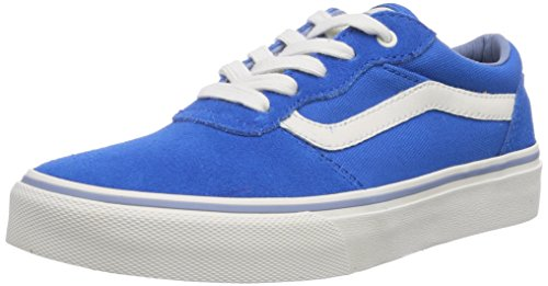 Vans Milton - Zapatillas de deporte Unisex bebé azul - Blau ((Vintage) blue/ FPJ)