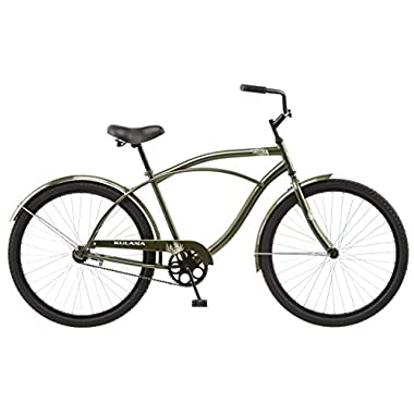 Kulana Men's Cruiser Bike, 26-Inch, Green