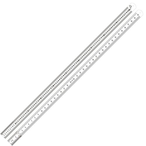 Swordfish 80020 Stainless Steel Measuring Scale Ruler Sae & Metric ()