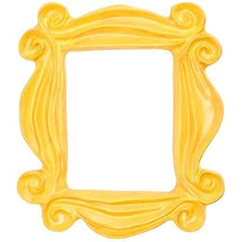Amazoncom Handmade Friends Yellow Peephole Door Frame As Seen On