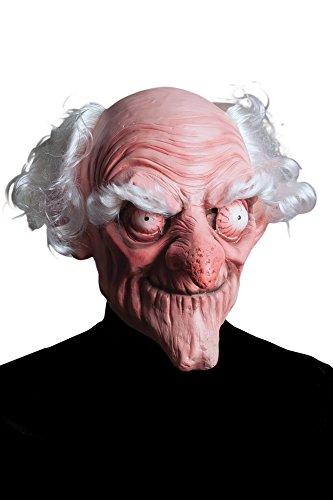 Morbid Enterprises Dirty Old Man Mask, Cream/White/Pink/Red, One Size