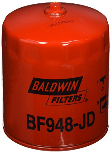 Baldwin Heavy Duty BF948-JD Fuel Filter,4-11/16x3-11/16x4-11/16 In