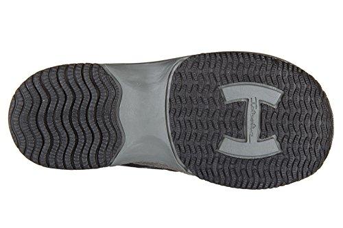 Hogan chaussures baskets sneakers garçon en daim neuves gris