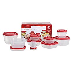 Rubbermaid 60-Piece Easy Find Lid Food Storage Container Set