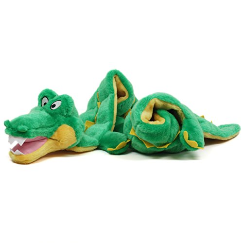 Squeaker Matz Ginormous Dog Squeaky Toy Large Toy for Dogs by Outward Hound, 32 Squeaker, Gator