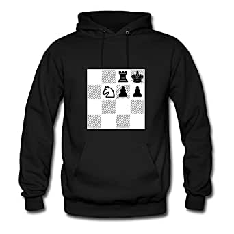 Smothered Mate Styling X-large Hoodies Women Cotton For Black