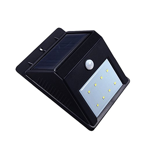Caferria Solar Sensor Wall Lights 16 Led Wireless
