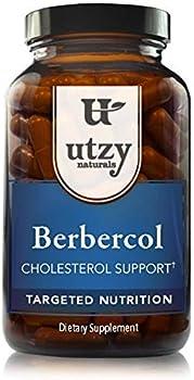 Utzy Naturals Cholesterol Support Berbercol Citrus Bergamot Supplement