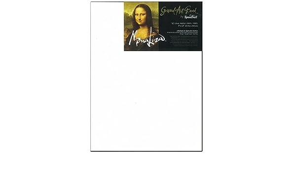 Set of 6 8 x 10 Size Mona Lisa Gessoed Art Board