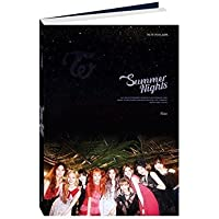 TWICE 2nd Special Album - SUMMER NIGHTS [ C Ver. ] CD + Photobook + Lyrics Poster + Polaroid PostCard + DIY Paper PostCard + PhotoCard + FREE GIFT / K-pop Sealed