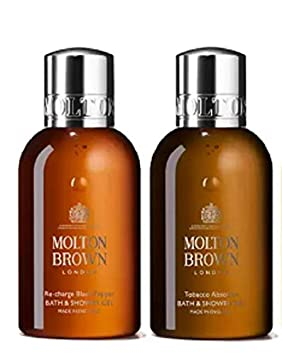 Image Unavailable. Image not available for. Colour: Molton Brown Men Travel Size Gift Set ...