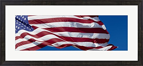 Close-up of an American flag fluttering, USA by Panoramic Images