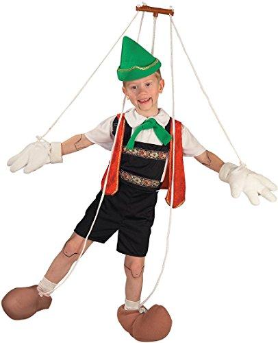 [Pinocchio Puppet Child Costume - Large] (Pinocchio Costume Hat)