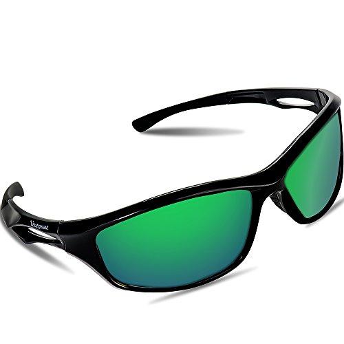 dcbbc1d568 VICTGOAL Gafas de Sol Deportivas Polarizadas con Proteccion UV400 & marco  TR90 Irrompible.