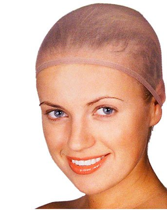 Light Brown Wig Cap Costume Accessory