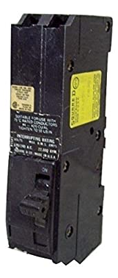 Square D Q1B2100 Circuit Breaker 2 Pole 100 Amp