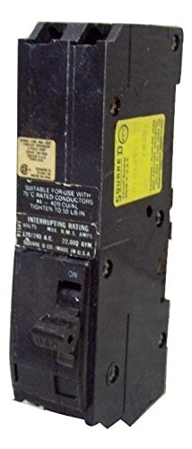Square D #Q12125, 2pole, 125A, 240V & guaranteed to work