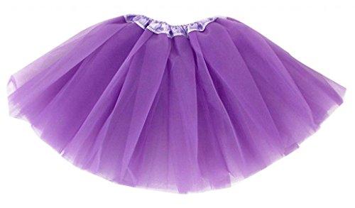 De Ballet Tutu Mini En Adulte Dentelle Violet Femme Et Organza Intense Jupe d5xA7qBx