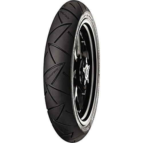 Continental Conti Road Attack 2 EVO Hyper Sport Touring Tire - Front - 120/70ZR-17 , Position: Front, Rim Size: 17, Tire Application: Touring, Tire Size: 120/70-17, Tire Type: Street, Load Rating: 58, Speed Rating: W, Tire Construction: Radial 02443530000