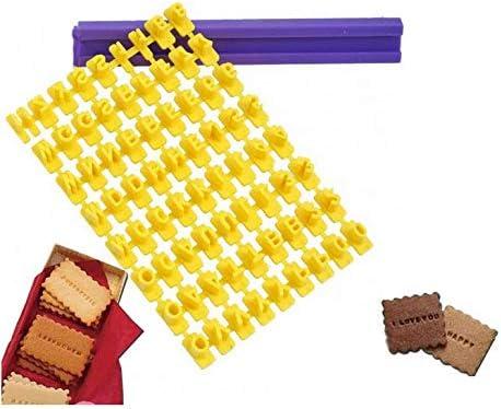1 Set Alphabet Number Letter Biscuit Fondant Cake Cookie Stamp Impress Embos Oyu