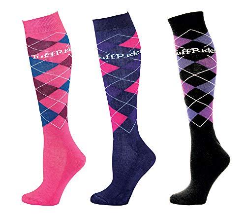 e Hi Socks - 3 Pack - Pnk/Lil/Bk ()