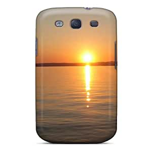 lintao diy Galaxy Cover Case - Sunset At Lake Balaton 12359 Protective Case Compatibel With Galaxy S3